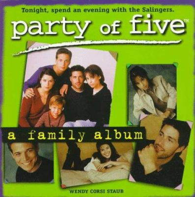 Cover image for Party of five : a family album