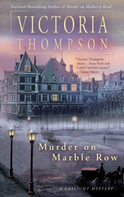 Cover image for Murder on Marble Row : a gaslight mystery