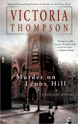 Cover image for Murder on Lenox Hill : a gaslight mystery