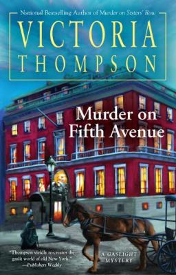 Cover image for Murder on Fifth Avenue