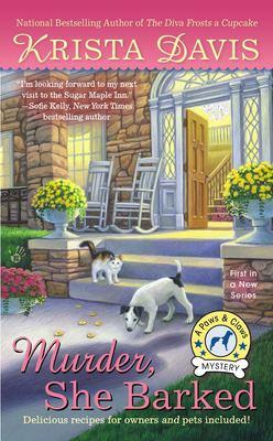 Cover image for Murder, she barked