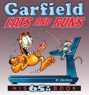 Cover image for Garfield eats and runs