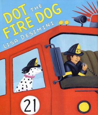 Cover image for Dot the fire dog