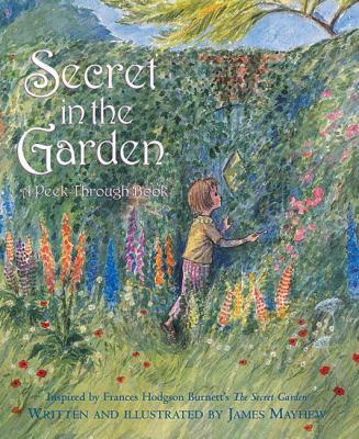 Cover image for Secret in the garden : a peek-through book