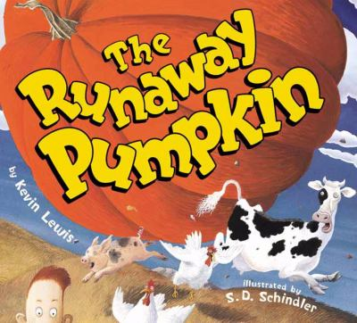 Cover image for The runaway pumpkin
