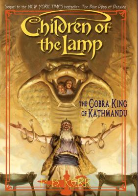 Cover image for The Cobra King of Kathmandu