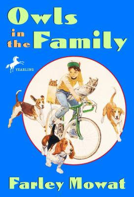 Cover image for Owls in the family