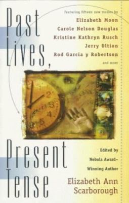 Cover image for Past lives, present tense