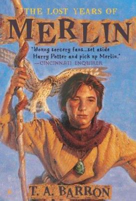 Cover image for THE LOST YEARS OF MERLIN