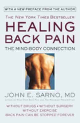 Cover image for Healing back pain : the mind-body connection