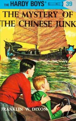 Cover image for The mystery of the Chinese junk.