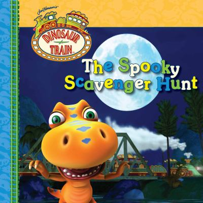 Cover image for The spooky scavenger hunt.