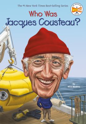 Cover image for Who was Jacques Cousteau?