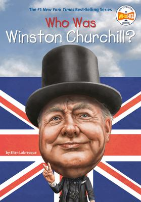 Cover image for Who was Winston Churchill?