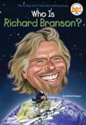 Cover image for Who is Richard Branson?