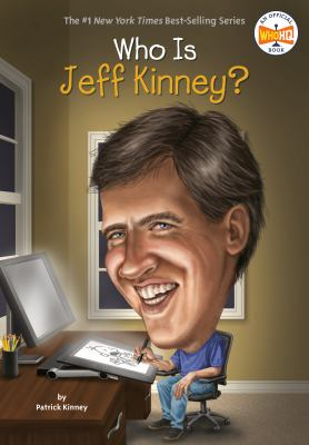 Cover image for Who is Jeff Kinney?