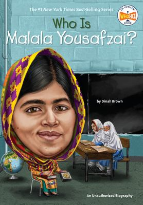 Cover image for Who is Malala Yousafzai?