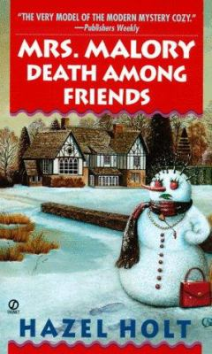 Cover image for Mrs. Malory : death among friends
