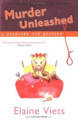 Cover image for Murder unleashed : a dead-end job mystery