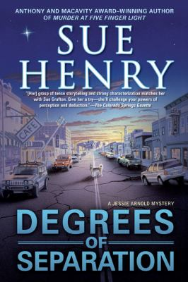 Cover image for Degrees of separation : a Jessie Arnold mystery