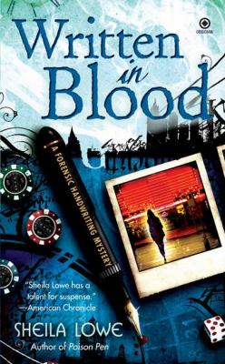 Cover image for Written in blood : a forensic handwriting mystery