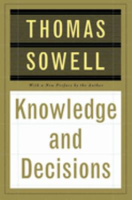 Cover image for Knowledge and decisions
