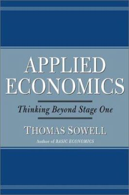 Cover image for Applied economics : thinking beyond stage one