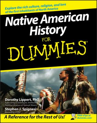 Cover image for Native American history for dummies