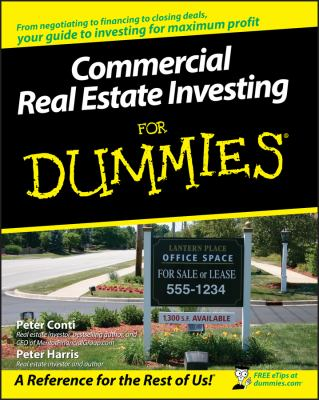 Cover image for Commercial real estate investing for dummies