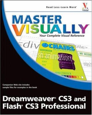 Cover image for Master visually Dreamweaver CS3 and Flash CS3 professional