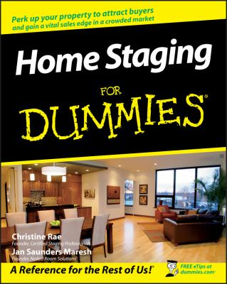Cover image for Home staging for dummies