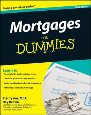Cover image for Mortgages for dummies