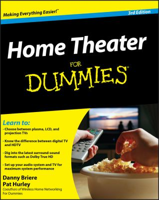 Cover image for Home theater for dummies