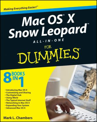 Cover image for MAC OS X Snow Leopard all-in-one for dummies