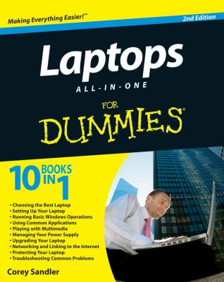 Cover image for Laptops all-in-one for dummies