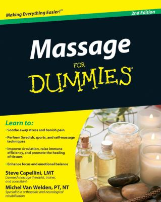 Cover image for Massage for dummies