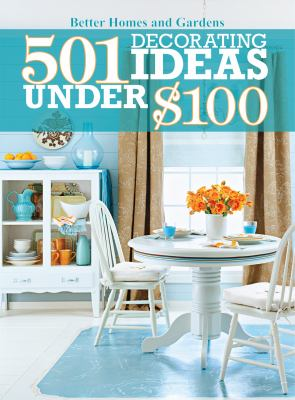 Cover image for 501 decorating ideas under $100