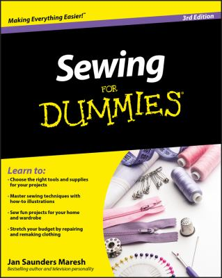 Cover image for Sewing for dummies
