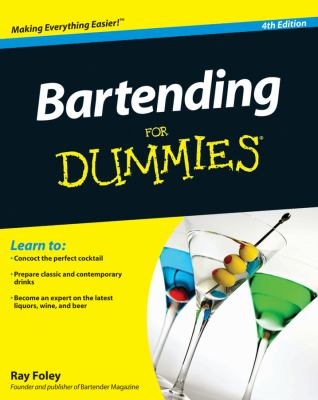 Cover image for Bartending for dummies