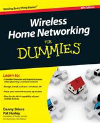 Cover image for Wireless home networking for dummies