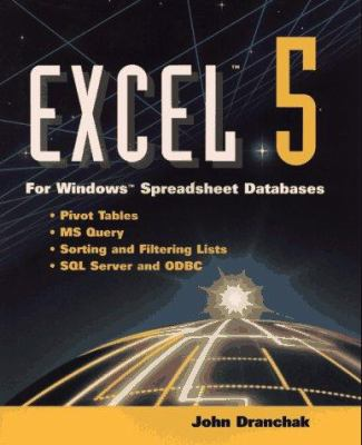Cover image for Excel 5 for Windows spreadsheet databases