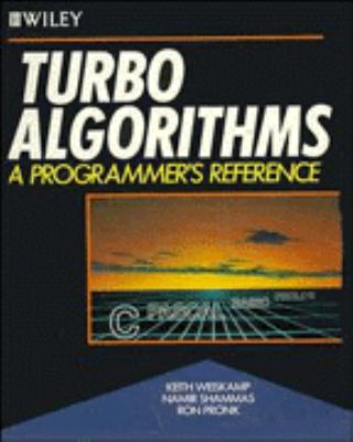 Cover image for Turbo algorithms : a programmer's reference