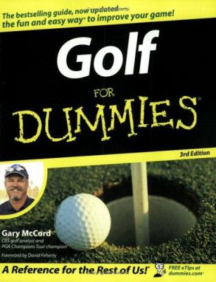 Cover image for Golf for dummies