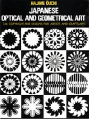 Cover image for Japanese optical and geometrical art
