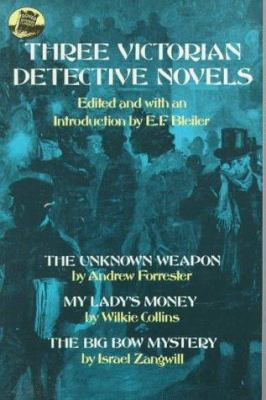 Cover image for Three Victorian detective novels