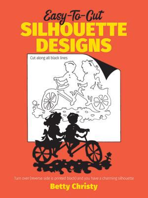 Cover image for Easy-to-cut silhouette designs