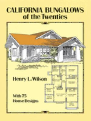 Cover image for California bungalows of the twenties
