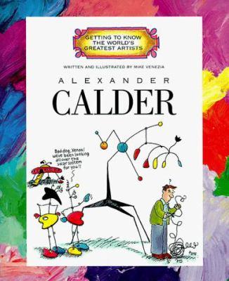 Cover image for Alexander Calder