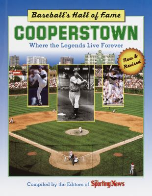 Cover image for Cooperstown : Baseball's Hall of Fame, where the legends live forever