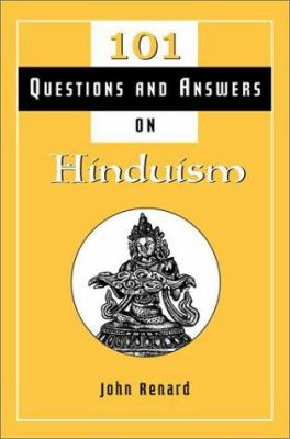 Cover image for 101 questions and answers on Hinduism